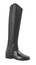 Wadenchaps SOFT Leder schwarz