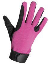 Kinderhandschuhe CURLY pink/schwarz
